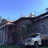 Work on the Main House